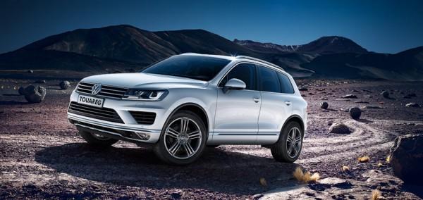 Volkswagen Touareg bonus až 10 600 EUR!