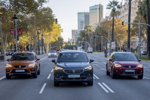 trio modelov-Výpredaj skladových a predvádzacích vozidiel SEAT