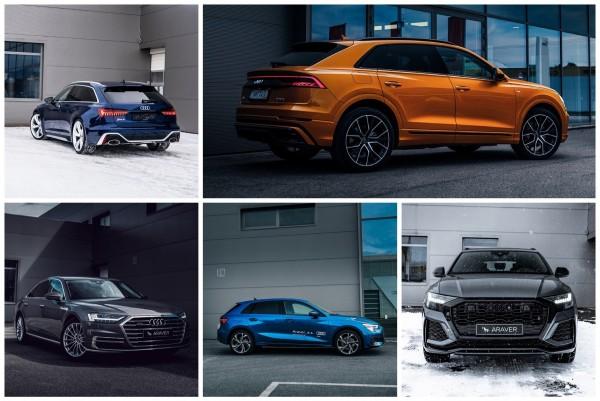 Mimoriadna ponuka skladových a predvádzacích vozidiel Audi!