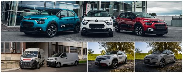 Totálny výpredaj skladových a predvádzacích  vozidiel Citroën