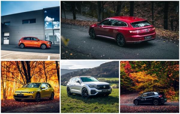 Mimoriadna ponuka skladových a predvádzacích vozidiel Volkswagen!