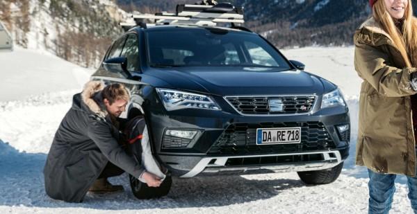 Uskladnenie sezónnych pneumatík SEAT