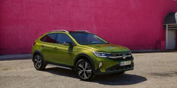 Novinka Volkswagen Taigo zelená