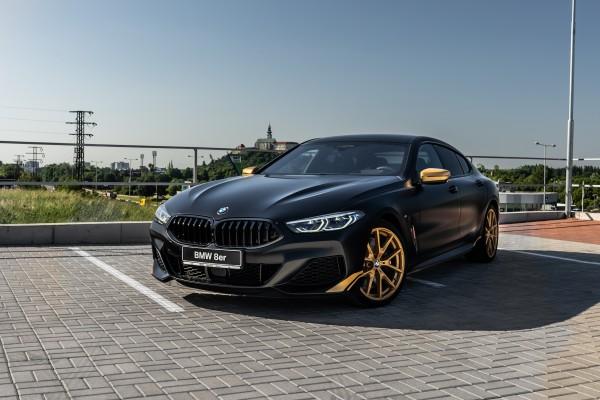 Limitovaná edícia BMW M850i Gran Coupé Golden Thunder Edition