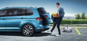 Volkswagen Touran elektrický ovladanie batožinového priestoru