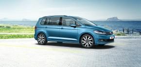 Volkswagen Touran pohľad z boku vpravo