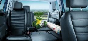 Volkswagen Touran interiér sedačky, batožinový priestor