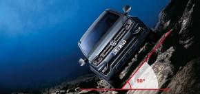 Volkswagen AMAROK v teréne 50 stupňový uhol