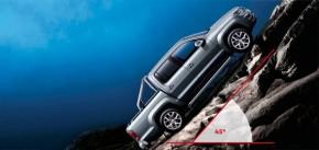 Volkswagen AMAROK v teréne 45 stupňový uhol