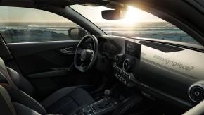Audi Q2  interiér prístrojová doska, sedačky