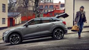 Audi Q2 pohľad zboku vľavo