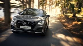 Audi Q2 trojštvrťový pohľad spredu 4