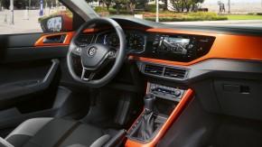 Volkswagen Polo interiér- prístrojová doska