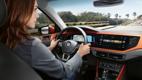 Volkswagen Polointeriér- prístrojová doska 2