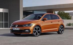 Volkswagen Polo trojštvrťový pohľad spredu vľavo