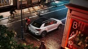 Volkswagen T-Roc pohľad zhora vpravo
