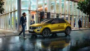 Volkswagen T-Roc trojštvrťový pohľad z boku vľavo