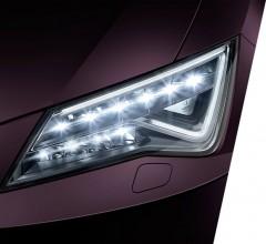 SEAT Leon ST- detail predné svetlo