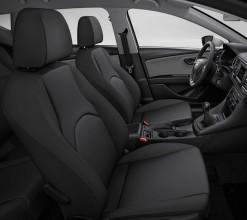 SEAT Leon ST-interiér- detail predné sedačky