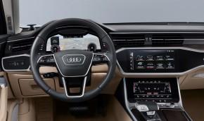 Audi A6 interiér- prístrojová doska volant