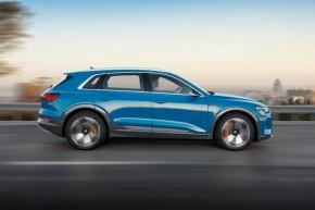 Audi e- tron- pohľad z boku, vpravo