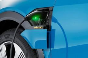 Audi e- tron- nabíjenie