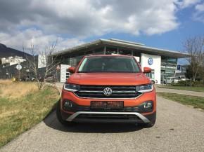 Novinka Volkswagen T-Cross pohľad spredu