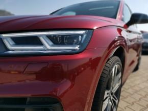 Audi Q5 detail svetlo