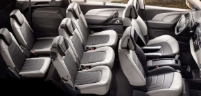 Citroën GRAND C4 Spacetourer- interiér, 7 sedadiel