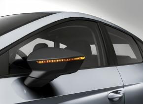 SEAT Leon FR Black - ľavé spätné zrkadlo - čierne