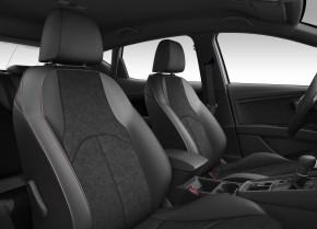 SEAT Leon FR Black - interier - sedadlá čierna Alcantara