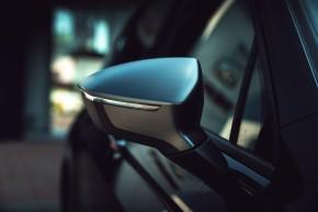SEAT Tarraco detail spätné zrkadlo- čierna farba