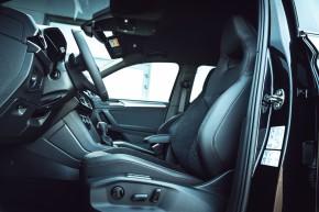 SEAT Tarraco interiér, predné sedačky- čierna farba