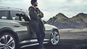 Audi A6 Allroad- pohľad spredu- zelená farba