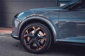 CUPRA Formentor detail predné koleso, disk- sivá farba