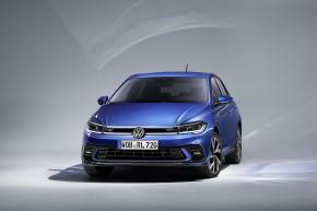 Volkswagen Polo modré