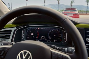 Novinka Volkswagen Taigo interiér