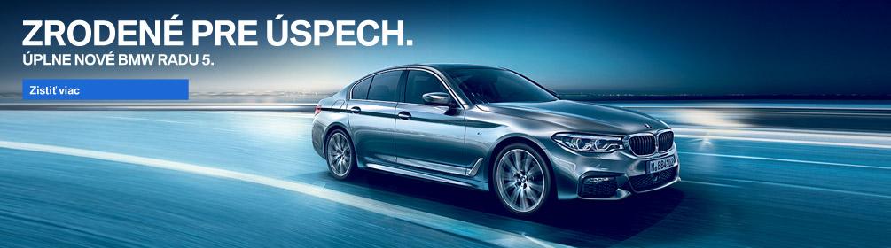 Úplne nové BMW radu 5
