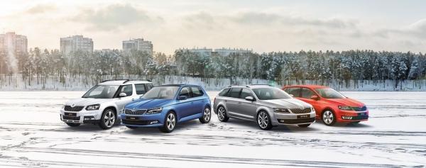 Zimný výpredaj vozidiel ŠKODA
